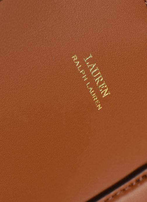 Sacs à main Lauren Ralph Lauren DRYDEN MARCY L Marron vue gauche