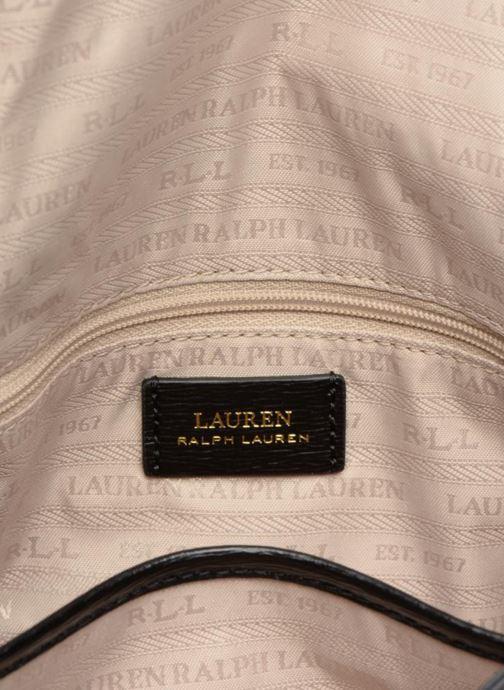 Sacs à main Lauren Ralph Lauren BENNINGTON FLAP XBODY M Noir vue derrière