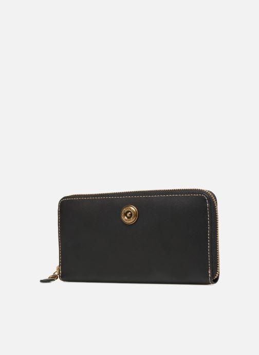 Petite Maroquinerie Lauren Ralph Lauren MILLBROOK ZIP WALLET M Noir vue portées chaussures