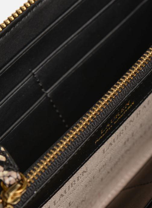 Petite Maroquinerie Lauren Ralph Lauren MILLBROOK ZIP WALLET M Noir vue derrière