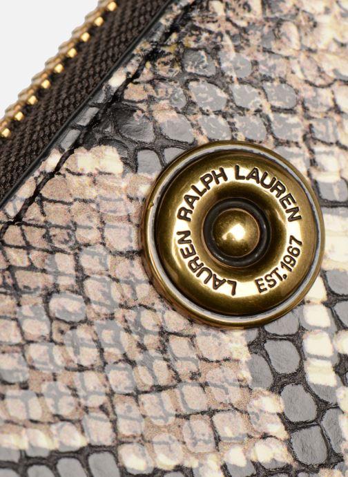 Petite Maroquinerie Lauren Ralph Lauren MILLBROOK ZIP WALLET M Noir vue gauche
