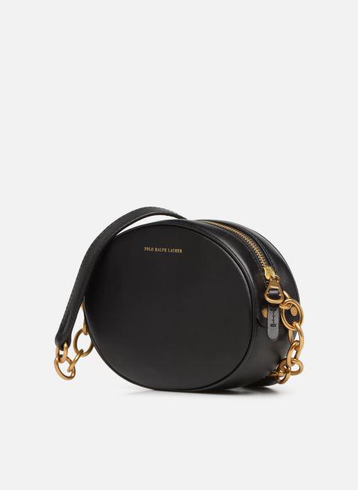 Sacs à main Polo Ralph Lauren GILLY BAG XBDY CROSSBODY M Noir vue portées chaussures