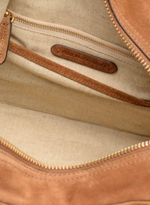 Sacs à main Polo Ralph Lauren SULLIVAN MD SATCHEL M Marron vue derrière