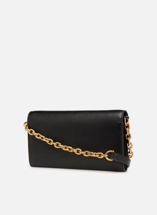 Handtassen Polo Ralph Lauren CHAIN WALLET Zwart rechts