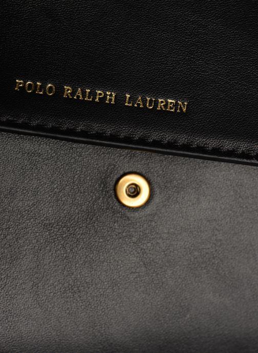 Sacs à main Polo Ralph Lauren CHAIN WALLET Noir vue gauche