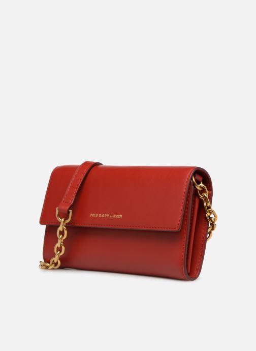 Bolsos de mano Polo Ralph Lauren CHAIN WALLET Rojo vista del modelo