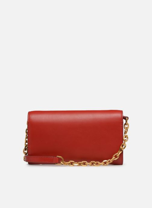 Handtaschen Polo Ralph Lauren CHAIN WALLET rot ansicht von vorne