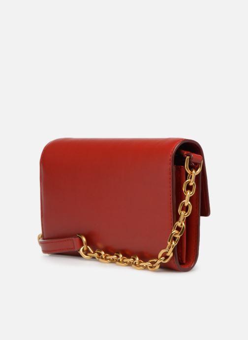 Handtaschen Polo Ralph Lauren CHAIN WALLET rot ansicht von rechts