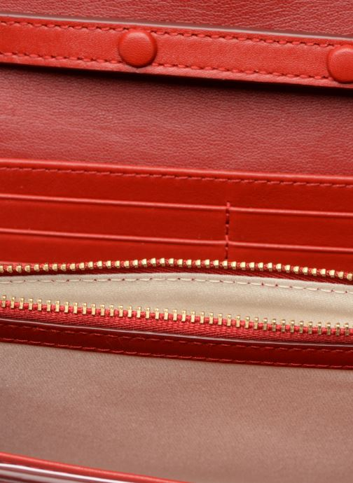 Bolsos de mano Polo Ralph Lauren CHAIN WALLET Rojo vistra trasera