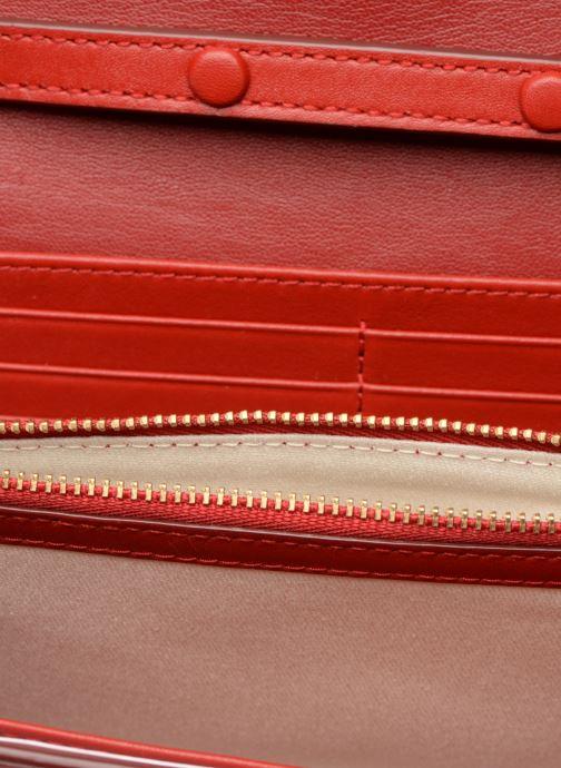 Handtaschen Polo Ralph Lauren CHAIN WALLET rot ansicht von hinten