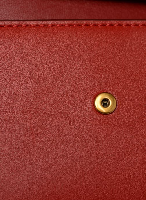 Bolsos de mano Polo Ralph Lauren CHAIN WALLET Rojo vista lateral izquierda