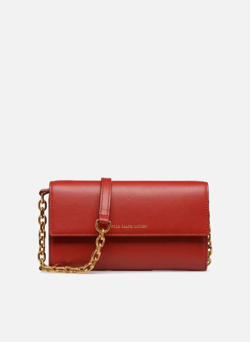 Bolsos de mano Polo Ralph Lauren CHAIN WALLET Rojo vista de detalle / par