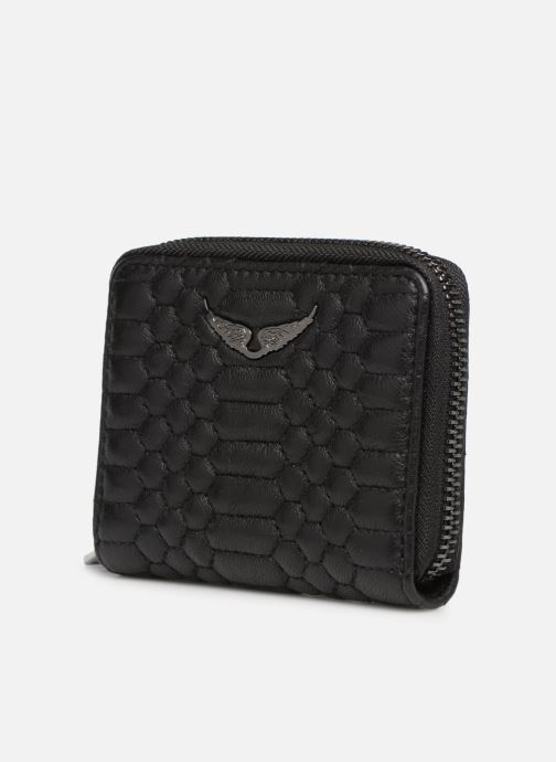 Wallets & cases Zadig & Voltaire MINI ZV MAT Black model view