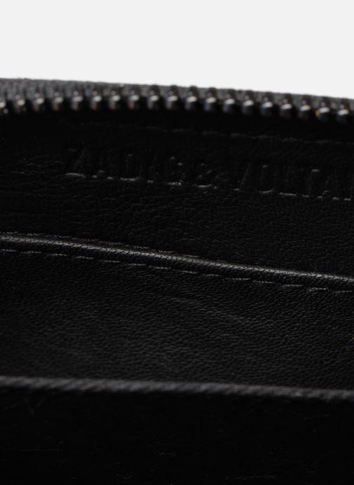 Kleine lederwaren Zadig & Voltaire MINI ZV MAT Zwart achterkant