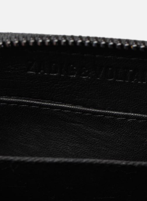 Wallets & cases Zadig & Voltaire MINI ZV MAT Black back view