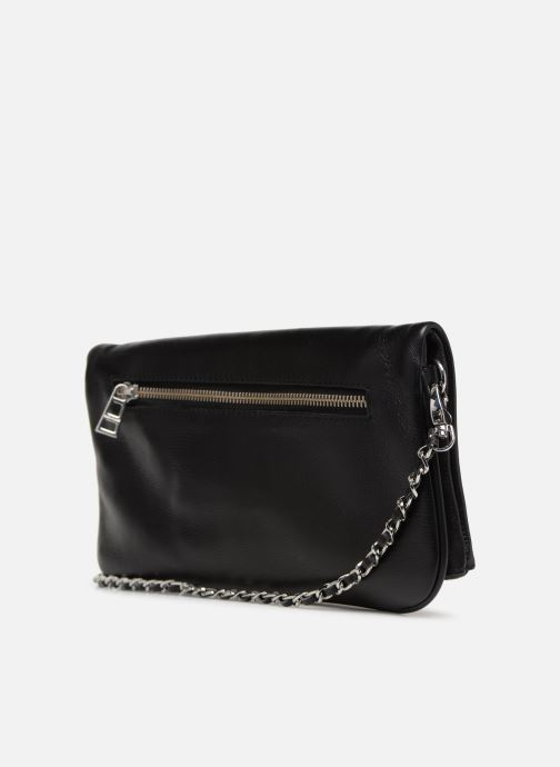 Handbags Zadig & Voltaire ROCK Black view from the right