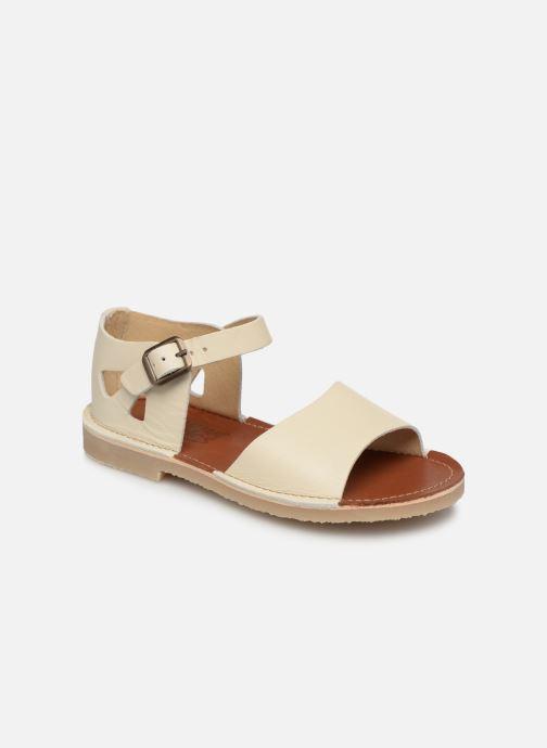 Sandales et nu-pieds Young Soles Mavis Blanc vue détail/paire