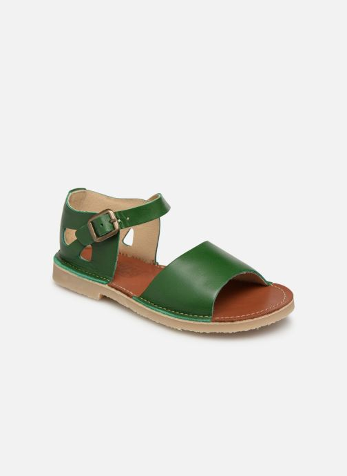 Sandals Young Soles Mavis Green detailed view/ Pair view