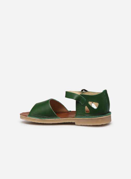 Sandali e scarpe aperte Young Soles Mavis Verde immagine frontale