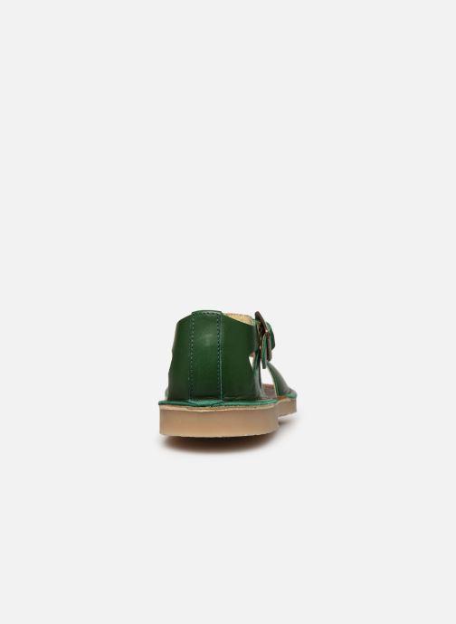 Sandali e scarpe aperte Young Soles Mavis Verde immagine destra