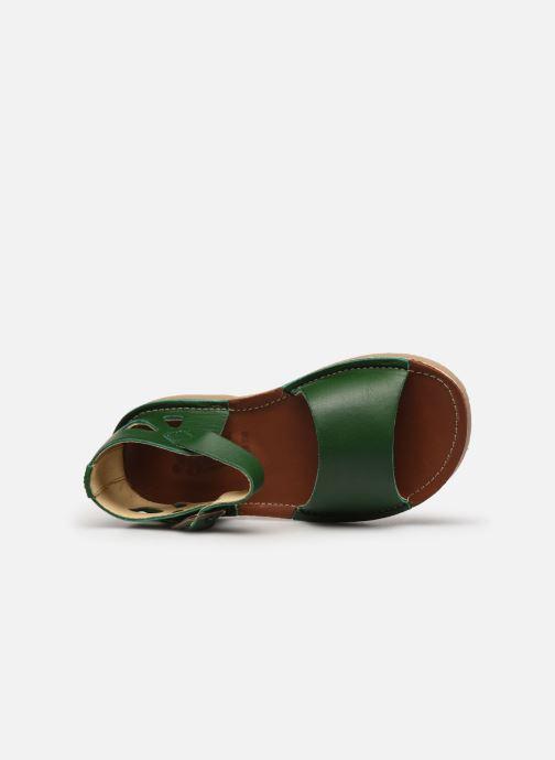 Sandali e scarpe aperte Young Soles Mavis Verde immagine sinistra
