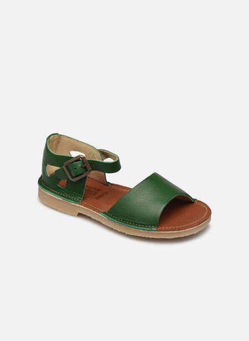 Sandaler Young Soles Mavis Grøn detaljeret billede af skoene