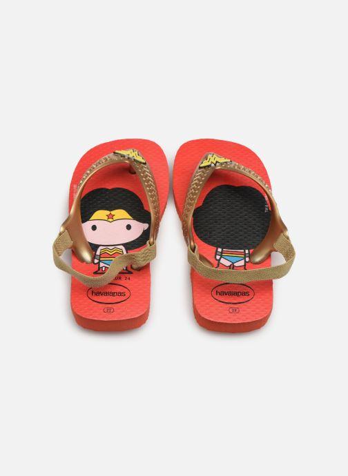 Slippers Havaianas Baby Herois Rood model