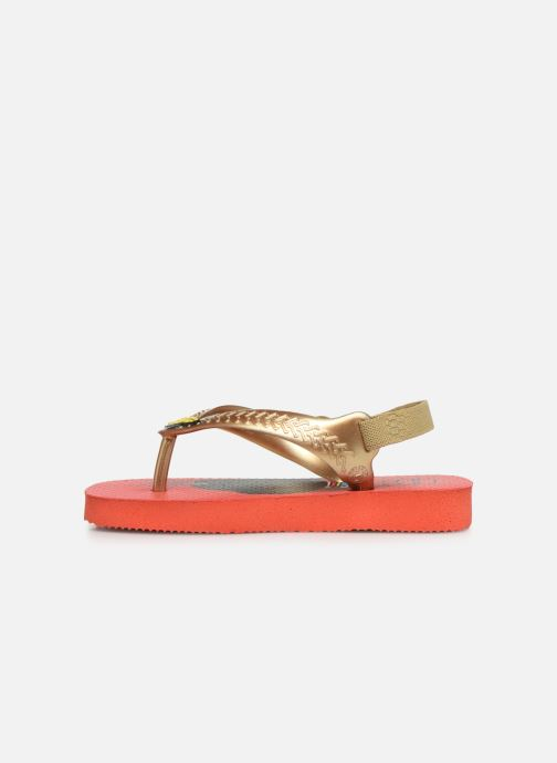 Tongs Havaianas Baby Herois Rouge vue face