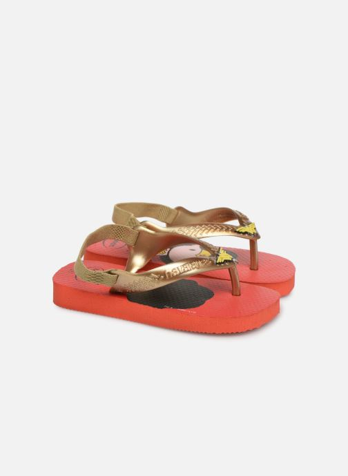 Slippers Havaianas Baby Herois Rood detail