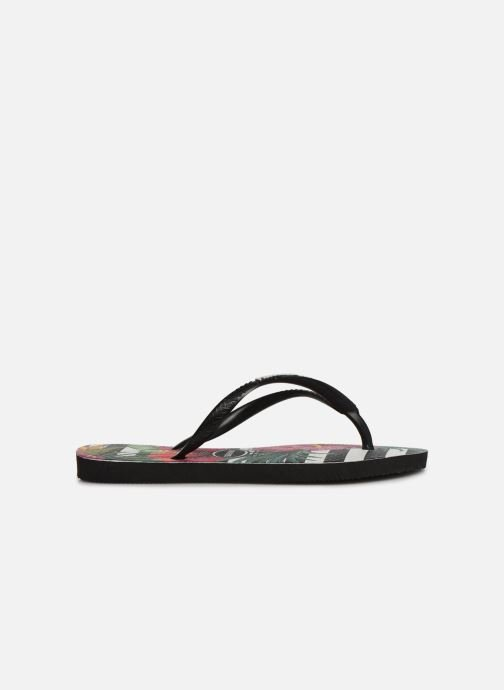 Tongs Havaianas Slim Tropical Floral E Multicolore vue derrière