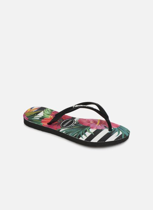 Tongs Havaianas Slim Tropical Floral E Multicolore vue détail/paire