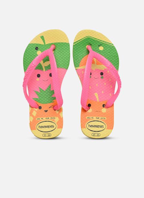 Tongs Havaianas Kids Slim Fun Multicolore vue détail/paire