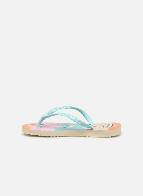 Tongs Havaianas Kids Slim Fun Multicolore vue face