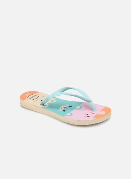 Tongs Havaianas Kids Slim Fun Multicolore vue détail/paire