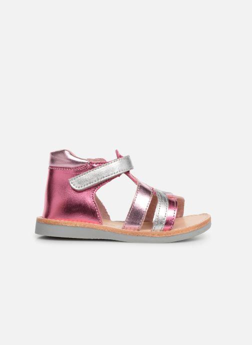 Sandales et nu-pieds Minibel Sechic Rose vue derrière