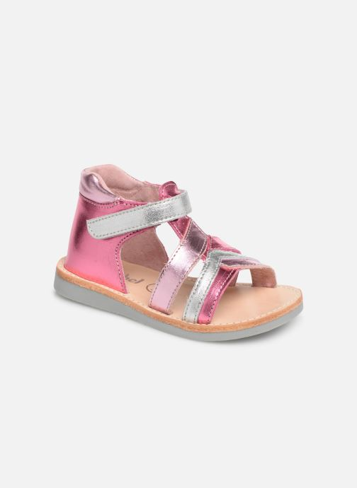 Sandales et nu-pieds Minibel Sechic Rose vue détail/paire