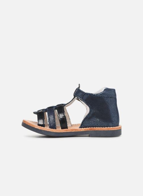 Sandales et nu-pieds Minibel Seglaet Bleu vue face