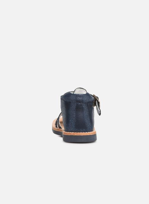 Sandales et nu-pieds Minibel Seglaet Bleu vue droite