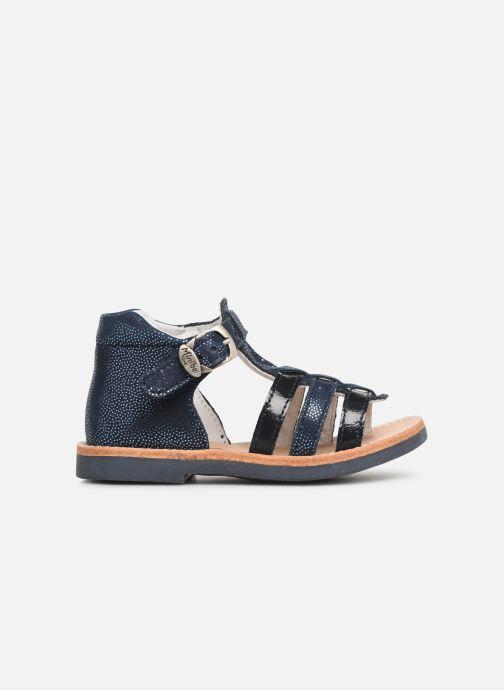 Sandales et nu-pieds Minibel Seglaet Bleu vue derrière