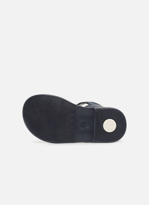 Sandales et nu-pieds Minibel Seglaet Bleu vue haut