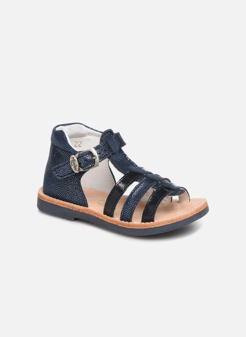 Sandales et nu-pieds Minibel Seglaet Bleu vue détail/paire