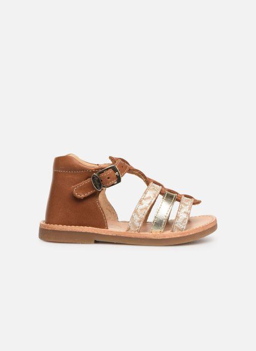 Sandales et nu-pieds Minibel Seglaet Marron vue derrière