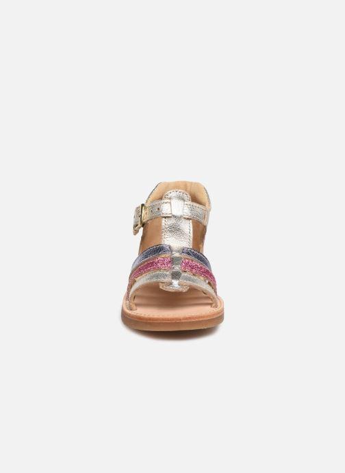 Sandales et nu-pieds Minibel Seglaet Multicolore vue portées chaussures