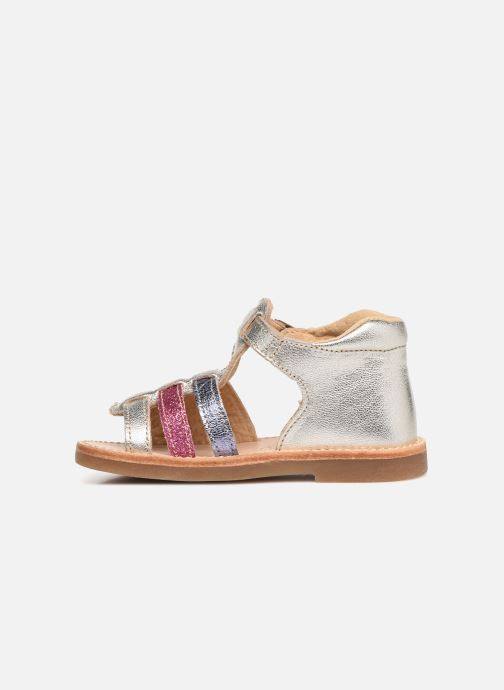 Sandales et nu-pieds Minibel Seglaet Multicolore vue face
