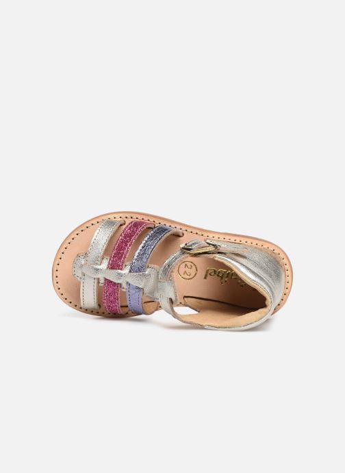 Sandales et nu-pieds Minibel Seglaet Multicolore vue gauche