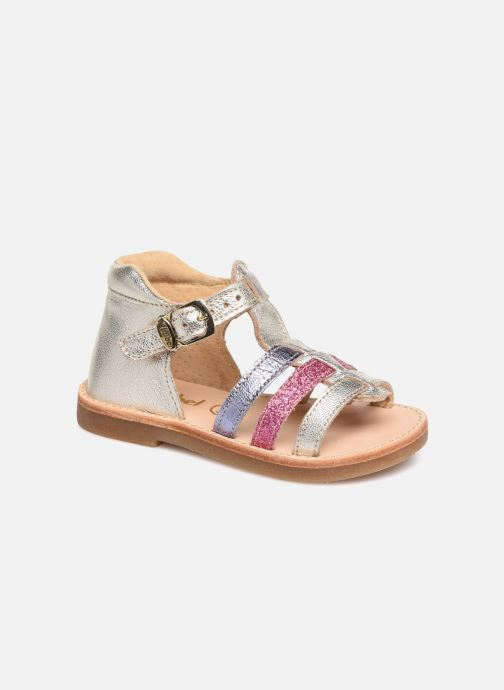 Sandales et nu-pieds Minibel Seglaet Multicolore vue détail/paire
