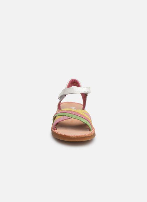 Sandales et nu-pieds Minibel Sofie Multicolore vue portées chaussures