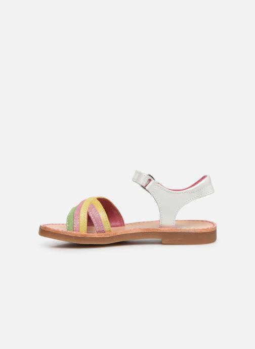 Sandales et nu-pieds Minibel Sofie Multicolore vue face
