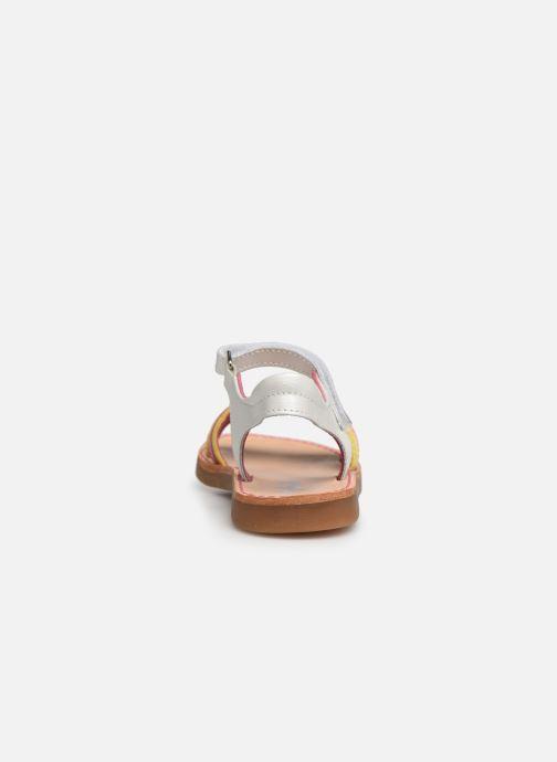 Sandales et nu-pieds Minibel Sofie Multicolore vue droite