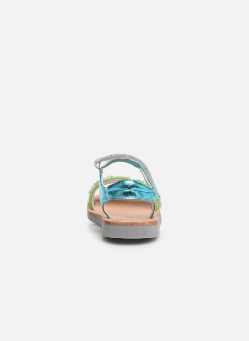 Sandals Minibel Soriany Blue view from the right